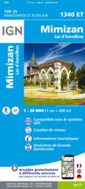 Wandelkaart Mimizan, Lac d'Aureilhan  | Franse Atlantische Kust | IGN 1340ET - IGN 1340 ET | ISBN 9782758542919