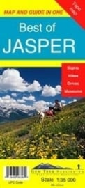 Wandelkaart Best of Jasper | Gem Trek nr. 12 | 1:35.000 |  ISBN 9781895526721