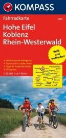 Fietskaart Eifel : Hohe Eifel - Koblenz - Rhein Westerwald | Kompass 3059 | 1:70.000 | ISBN 9783850262774