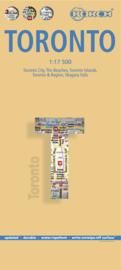Stadskaart Borch Toronto | 1:17.500 | ISBN 9783866093621
