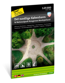 Wandelkaart Nördliches Kopenhagen & Nationalpark: Nordseeland der Könige | Calazo Outdoormaps Serie - Calazo Förlag Dänemark | 1:25.000 | ISBN 9789188779748