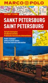 Stadskaart St. Petersburg | Marco Polo | 1:15.000 | ISBN 9783829730785