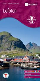 Wandelkaart Lofoten 2549 | Nordeca | 1:100.000 | ISBN 7046660025499