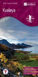 Wandelkaart Kvaløya 2639 | Nordeca | 1:50.000 | ISBN 7046660026397