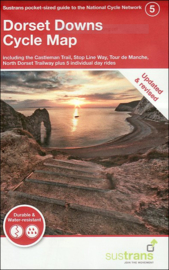 Fietskaart Cycle City Guide nr. 05 | Dorset Downs Cycle Map | 1:110.000 | ISBN 9781900623247