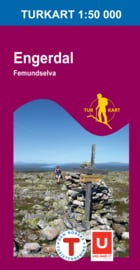 Wandelkaart Engerdal - Femundselva 2723 | Nordeca | 1:50.000 | ISBN 7046660027233