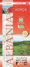 Wandelkaart Korca  | Huber Verlag 07 | 1:50.000 | ISBN 9783943752137
