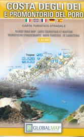 Wandelkaart Costa degli dei e promontorio del Poro - Calabrië | Global Map | 1:50.000 | ISBN 9788879145015