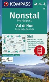 Wandelkaart Valle di Non/Nonstal | Kompass 95 | ISBN 9783990447109