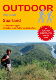 Wandelgids Saarland | Conrad Stein Verlag 409 | ISBN 9783866865396