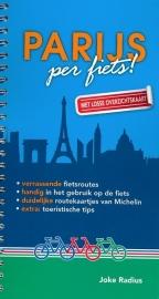 Fietsgids - Stadsgids Parijs per Fiets | Uitgeverij Radius | ISBN 9789080440203