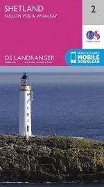 Wandelkaart Shetland - Sullom Voe & Whalsay | Ordnance Survey 2 | ISBN 9780319261002