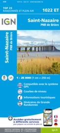 Wandelkaart Saint-Nazaire & Parc Naturel Regional de Briere   IGN 1022ET – IGN 1022 ET   ISBN 9782758551362