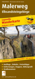 Wandelkaart Malerweg | Public Press | ISBN 9783899204513
