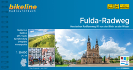 Fietsgids Fulda Radweg - 250 km. Bikeline | ISBN 9783850008280