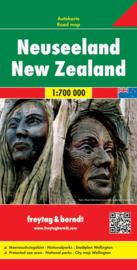 Wegenkaart Nieuw Zeeland - New Zealand | Freytag & Berndt | 1:700.000 | ISBN 9783707914832