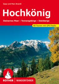 Wandelgids Hochkönig | Rother Verlag | Steinernes Meer - Tennengebirge | ISBN 9783763340156