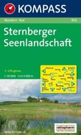 Wandelkaart Sternberger Seenlandschaft | Kompass 856 | 1:50.000 | ISBN 9783850261241