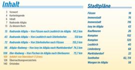 Fietsgids Allgau - RadRunde Allgäu | Bikeline | ISBN 9783850008204