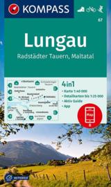 Wandelkaart Lungau - Radstädter Tauern | Kompass 67 |  1:50.000 | ISBN 9783990448632