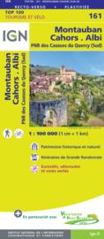 Wegenkaart - fietskaart Montauban - Albi | IGN 161 | ISBN 9782758547716