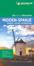 Reisgids Midden Spanje - Madrid - Castilië - Extremadura | Michelin Groene gids | ISBN 9789401457279
