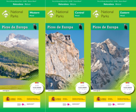 Wandelset Parques Nacionales Picos de Europa Parque National | CNIG | ISBN 9788441637511