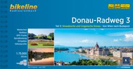 Fietsgids Donau Radweg 3 - 334 km. | Bikeline | Van Wenen naar Boedapest | ISBN 9783850006255