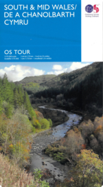 Wegenkaart Wales South & Mid nr. 11 | Ordnance Survey | 1:175.000 | ISBN 9780319263617