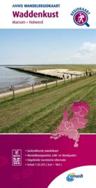 Wandelkaart Waddenkust - Lauwersmeer | ANWB | 1:33.333 | ISBN 9789018046378