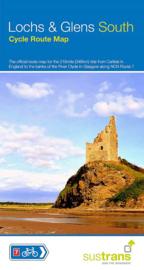 Fietskaart Lochs & Glens South | Sustrans | 1:110.000 | ISBN 9781910845462