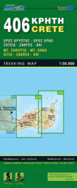 Wandelkaart Sitia, Zakros, Vai  | Road editions 406 | 1:50.000 | ISBN 9789604489541