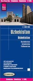 Wegenkaart Oesbekistan - Usbekistan | Reise Know How | 1:1 miljoen | ISBN 9783831772742