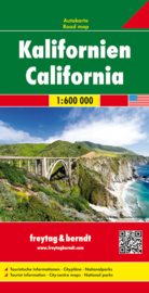 Wegenkaart Californië | Freytag & Berndt | 1:600.000 | ISBN 9783707914337