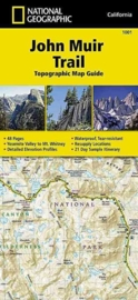 Wandelkaart John Muir Trail Map Guide  | National Geographic 1001 | 1:63.360 | ISBN 9781566956895