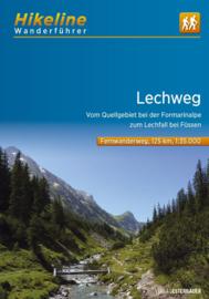 Wandelgids - Trekkinggids Lechweg | Hikeline | ISBN 9783850007429