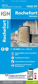 Wandelkaart Rochefort & Marennes | Franse Atlantische Kust | IGN 1430OT - IGN 1430 OT |  ISBN 9782758541134