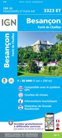 Wandelkaart Besançon - Forêt de Chailluz | IGN 3323ET - IGN 3323 ET | ISBN 9782758550129
