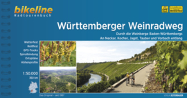 Fietsgids Württemberger Weinradweg - 360 km. | Bikeline | ISBN 9783850004992