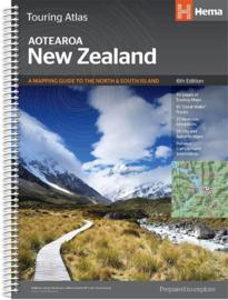 Wegenatlas New Zealand - Nieuw Zeeland | Hema maps | 1:350.000 | ISBN 9781925625035