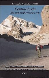 Wandelkaart Lycia Centraal deel - Kaş to Finike | 1:70.000 | West Col | ISBN 9781906449247