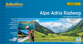 Fietsgids Alpe Adria Radweg - 403 km | Bikeline | Fietsen van Salzburg naar de Adriatische Kust bij Grad | ISBN 9783850008730