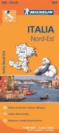 Wegenkaart Italie Noordoost | Michelin 562 | 1:400.000 | ISBN 9782067183957