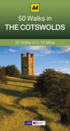 Wandelgids Cotswolds 50 walks in the.. | AA | ISBN 9780749573997