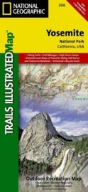 Wandelkaart Yosemite National Park 206 | National Geographic | ISBN 9781566952996