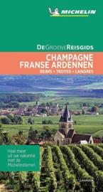 Reisgids Champagne - Franse Ardennen | Michelin groene gids | (Sedan - Reims - Châlons-en-Champagne - Troyes) | ISBN 9789401465151