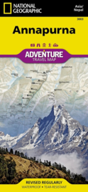 Wandelkaart Annapurna (3003) | National Geographic | 1:125.000 | ISBN 9781566955218