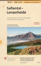 Wandelkaart Safiental - Lenzerheide (Surselva)  | Bundesamt 3310T |  ISBN 9783302333106