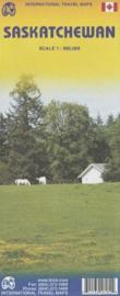 Wegenkaart  ITMB Saskatchewan | 1:900.000 | ISBN 9781553418184