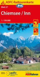 Fietskaart Chiemsee  - Inn | ADFC  nr.27 | ISBN 9783870737306